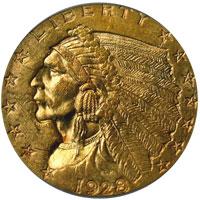 Indian Quarter Eagle Mintage